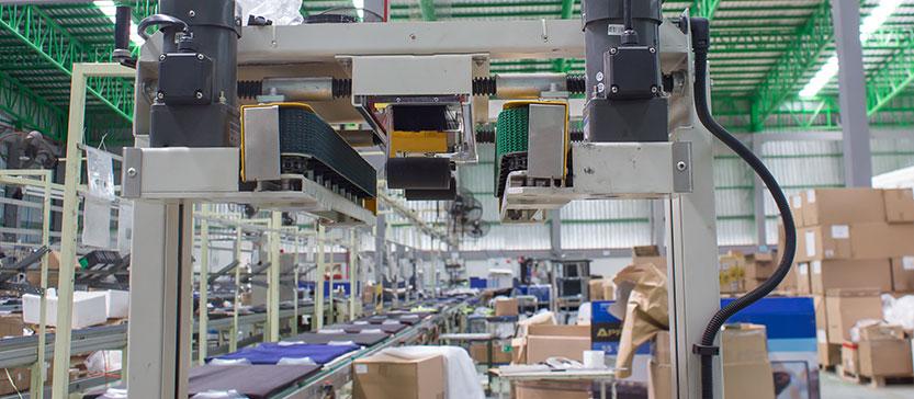 Bandningsmaskiner för säker frakt och förvaring